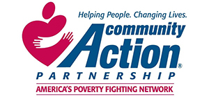 Community Action logo, non-profits served by Park Avenue Catering