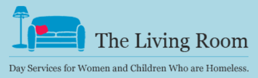 The Living Room logo, non-profits served by Park Avenue Catering