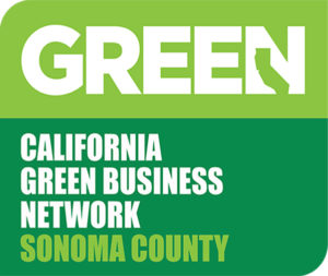 Certificate for membership in California Green Business Network Sonoma County